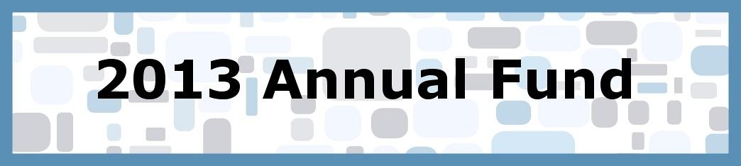 2013 Annual Fund
