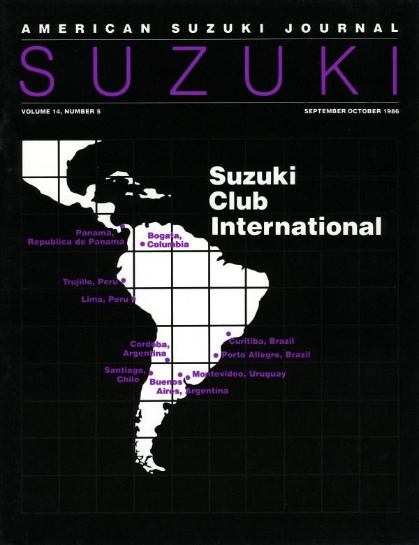 American Suzuki Journal volume 14.5
