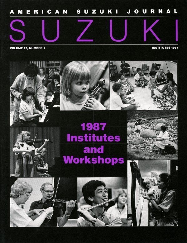 American Suzuki Journal volume 15.1