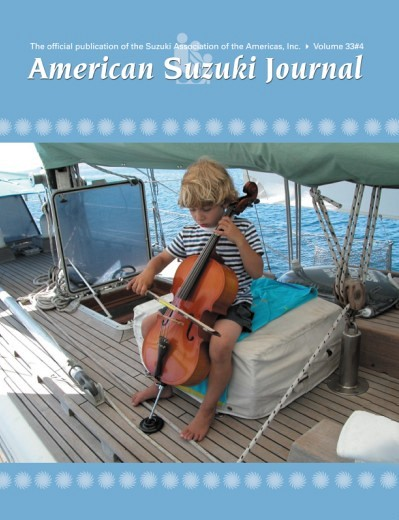American Suzuki Journal volume 33.4