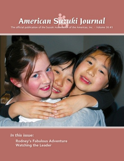 American Suzuki Journal volume 36.3