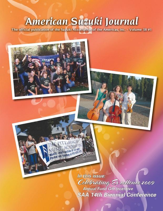 American Suzuki Journal volume 38.1