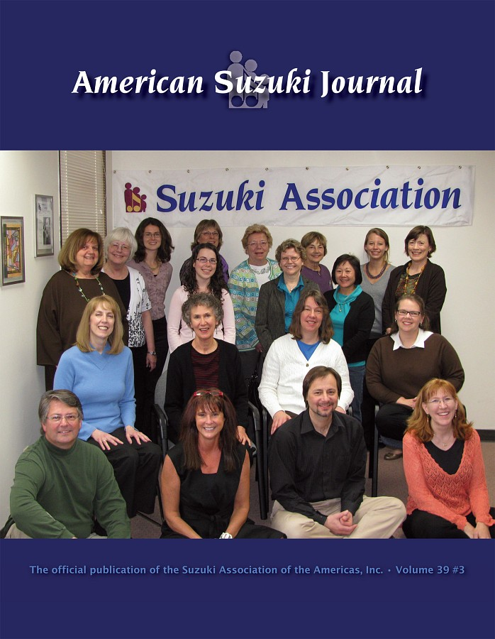 American Suzuki Journal volume 39.3