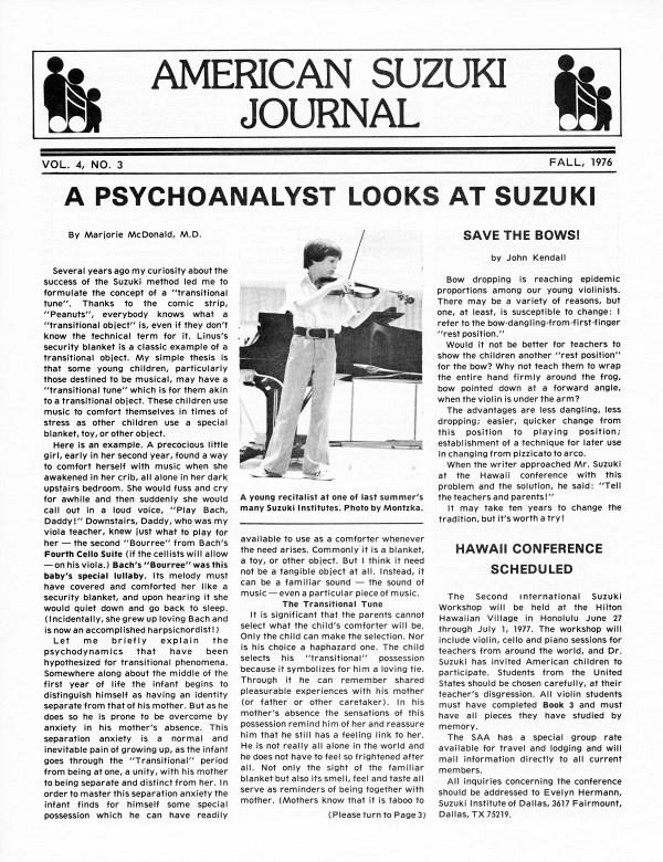 American Suzuki Journal volume 4.3
