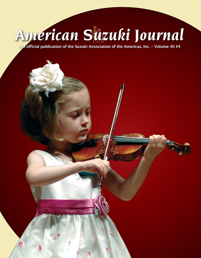 American Suzuki Journal volume 40.4