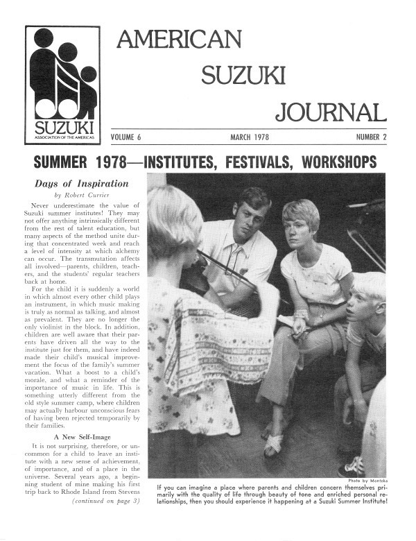 American Suzuki Journal volume 6.2