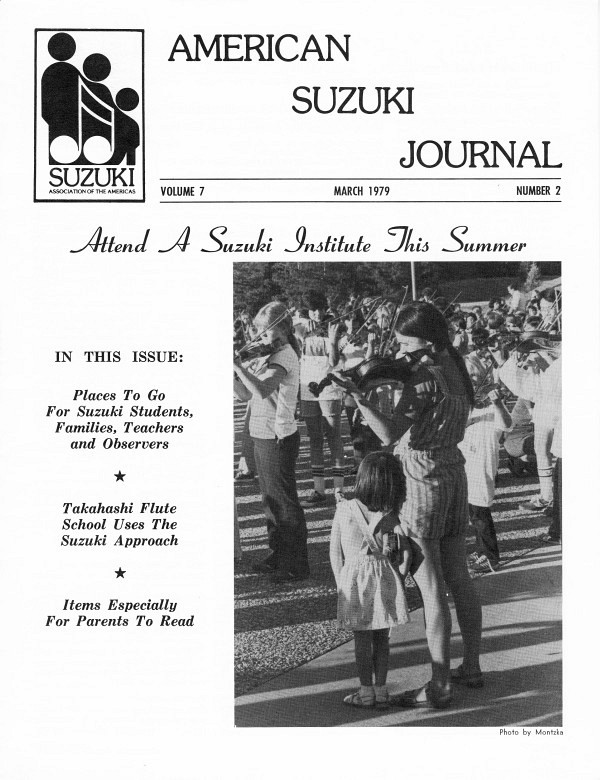 American Suzuki Journal volume 7.2