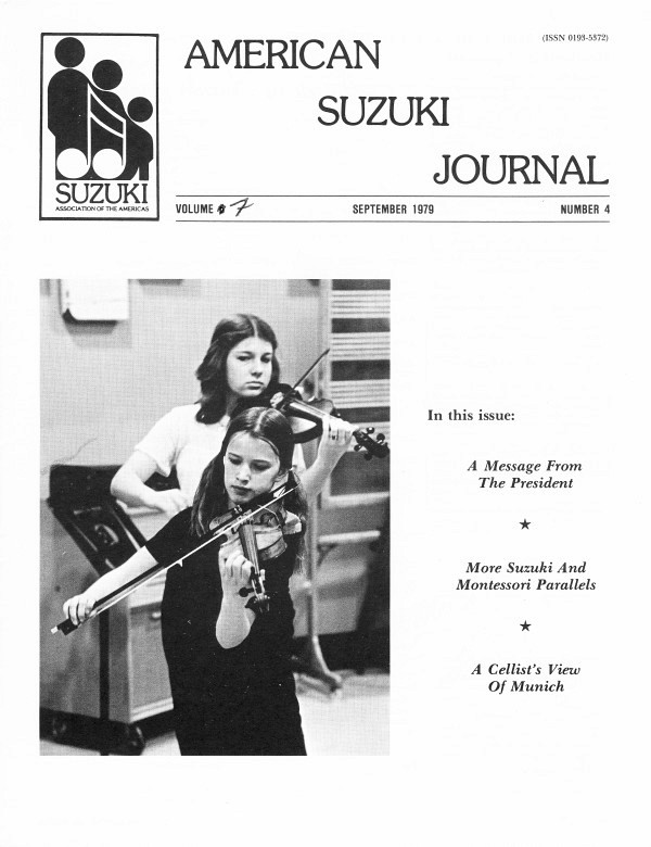American Suzuki Journal volume 7.4