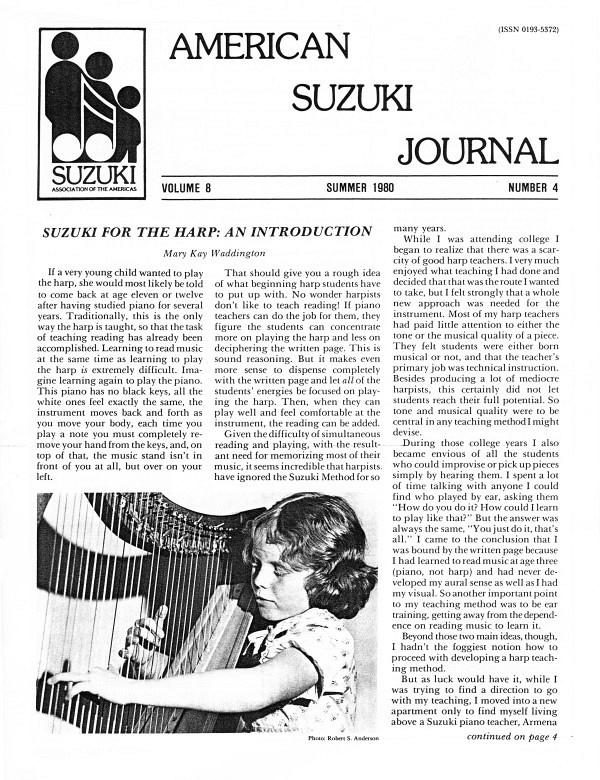 American Suzuki Journal volume 8.4