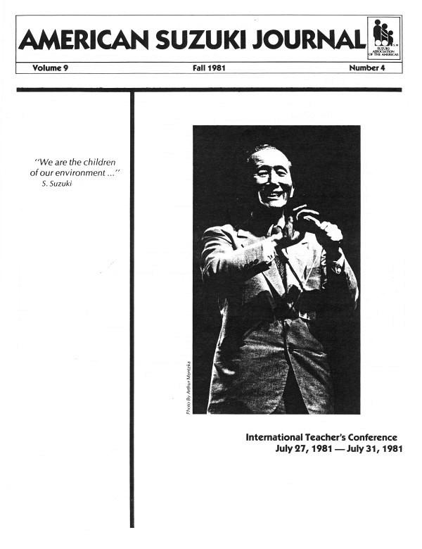 American Suzuki Journal volume 9.4