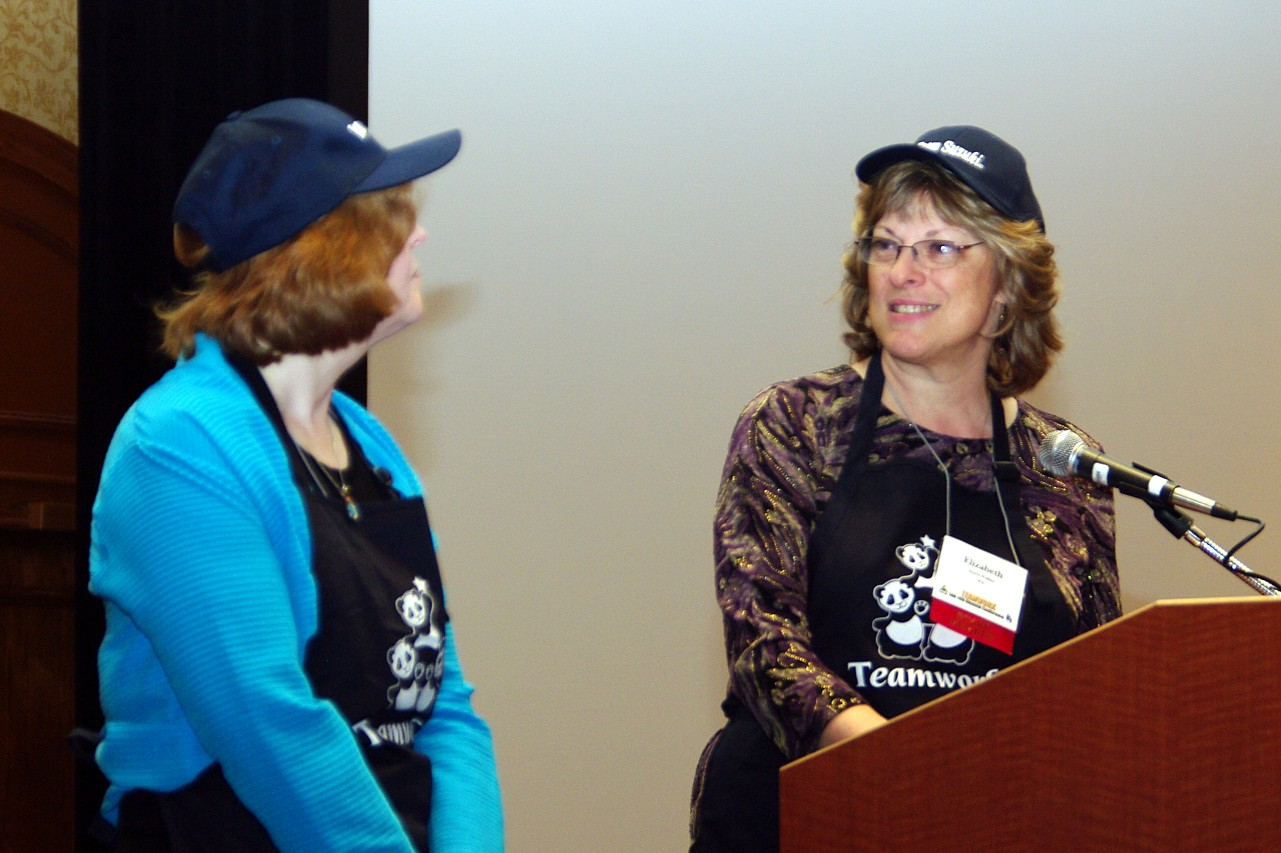 Carol Ourada and Betsy Stuen-Walker present at the 2010 Annual Meeting at the Conference