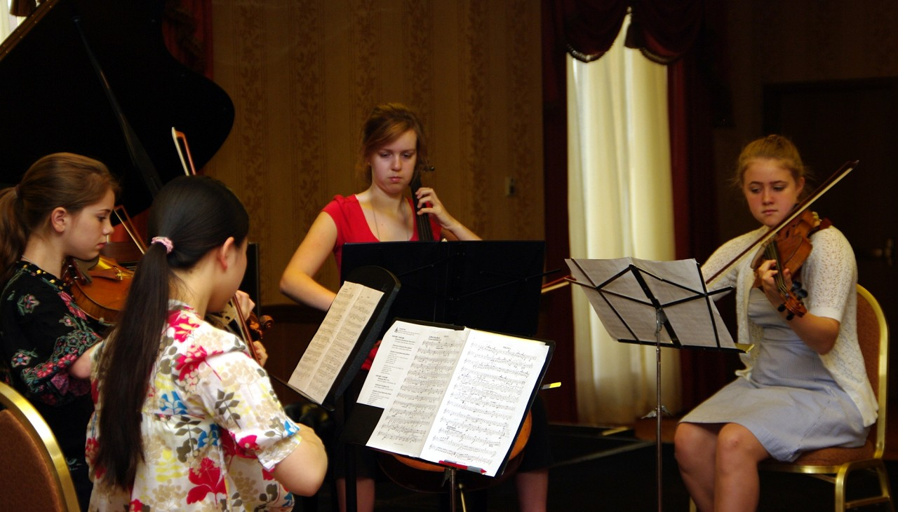 Chamber music at the 2010 Conference