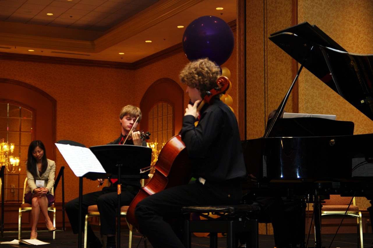 Chamber music masterclass at the 2010 Conference