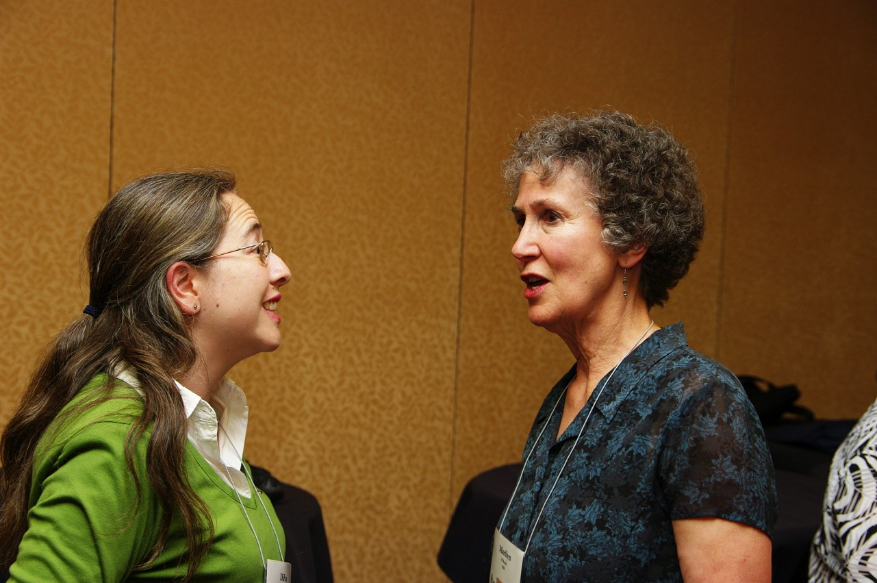 Dilva Sanchez and Marilyn O'Boyle at the 2010 Conference