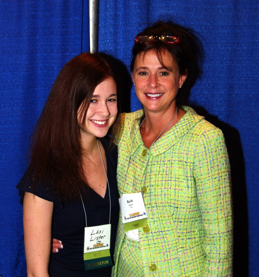 Alexa Lister and Beth Stanley, SAA Staff, at the 2010 Conference