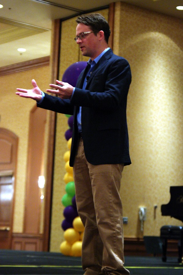 Daniel Coyle, keynote speaker at the 2010 Conference