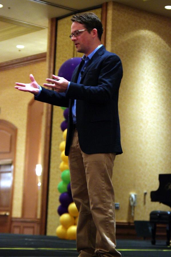 Daniel Coyle, keynote speaker at the 2010 Conference