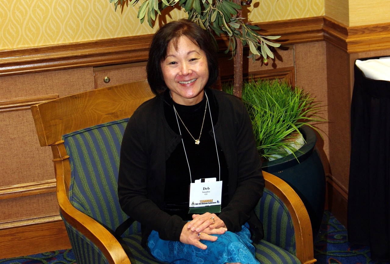 Deb Yamashita, SAA Staff, at the 2010 Conference