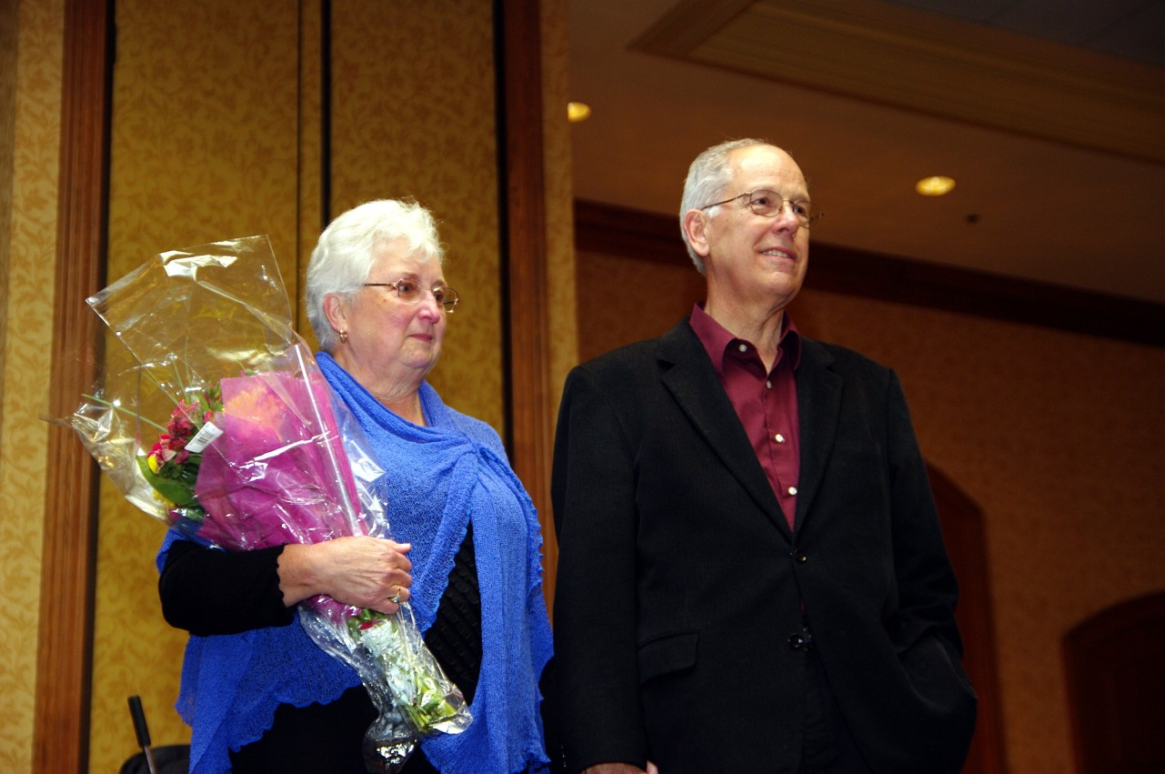 Dorothy Jones and Don Jones at the 2010 Conference