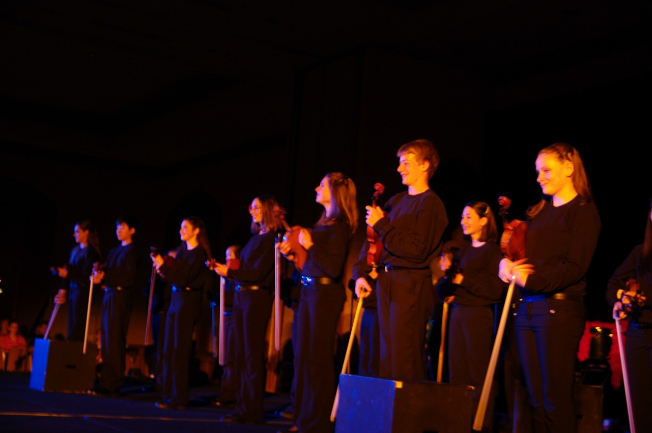 Allegro!! performs at the 2010 Conference awards banquet.