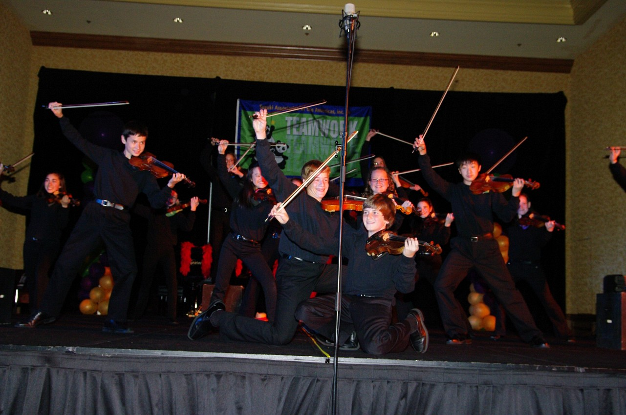 Allegro!! performs at the 2010 Conference awards banquet
