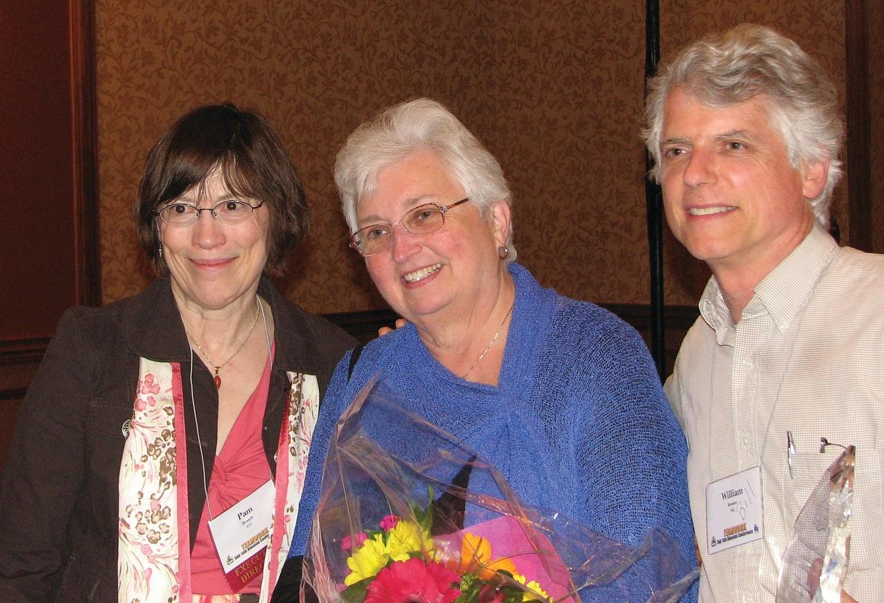 2010 CLC Award recipients: Pam Brasch, Dorothy Jones, Bill Kossler