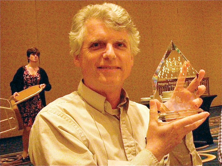 Bill Kossler, Creating Learning Community Award recipient
