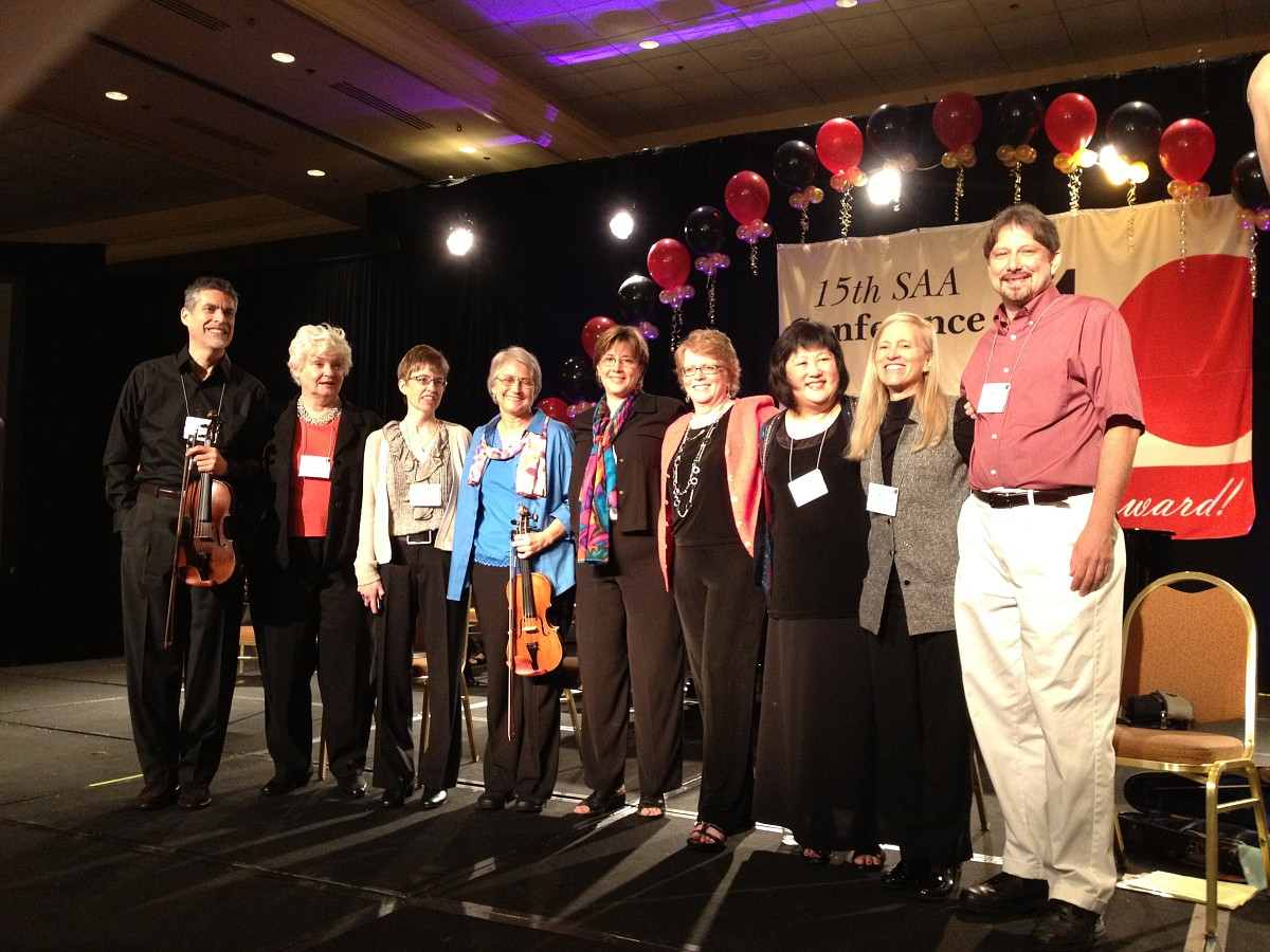 John Kendall's Legacy presenters at the 2012 conference