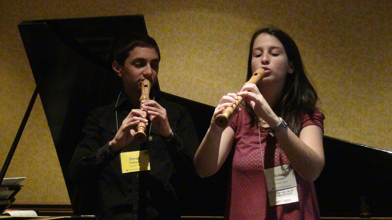 Recorder Masterclass 2012 Conference