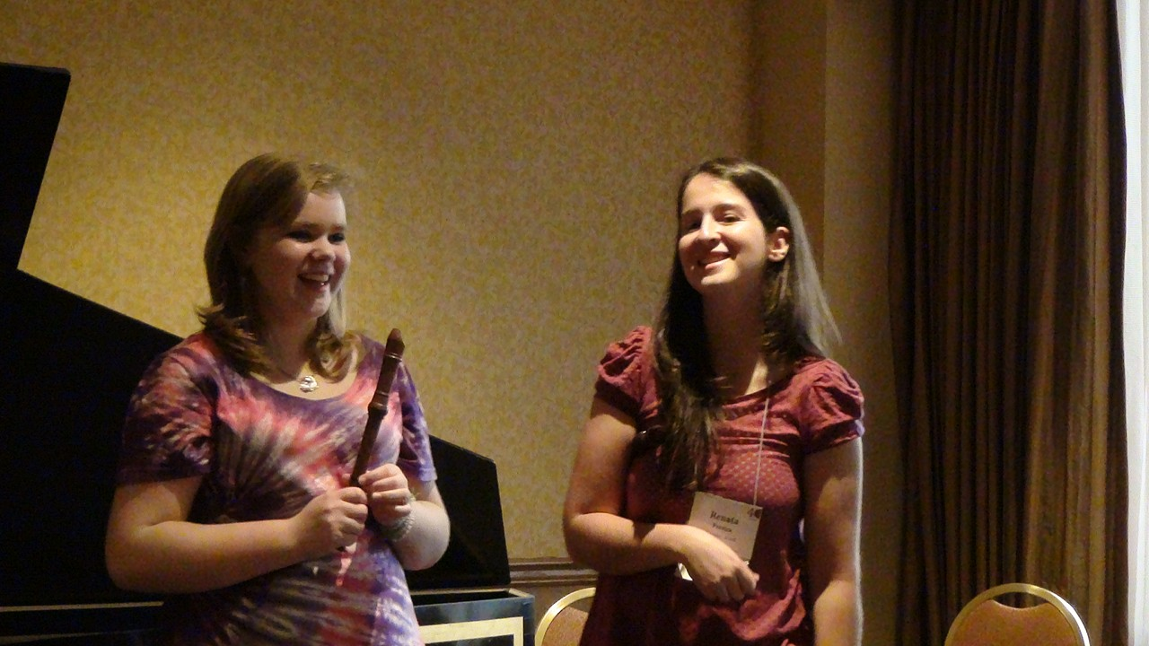 Recorder Masterclass at 2012 Conference