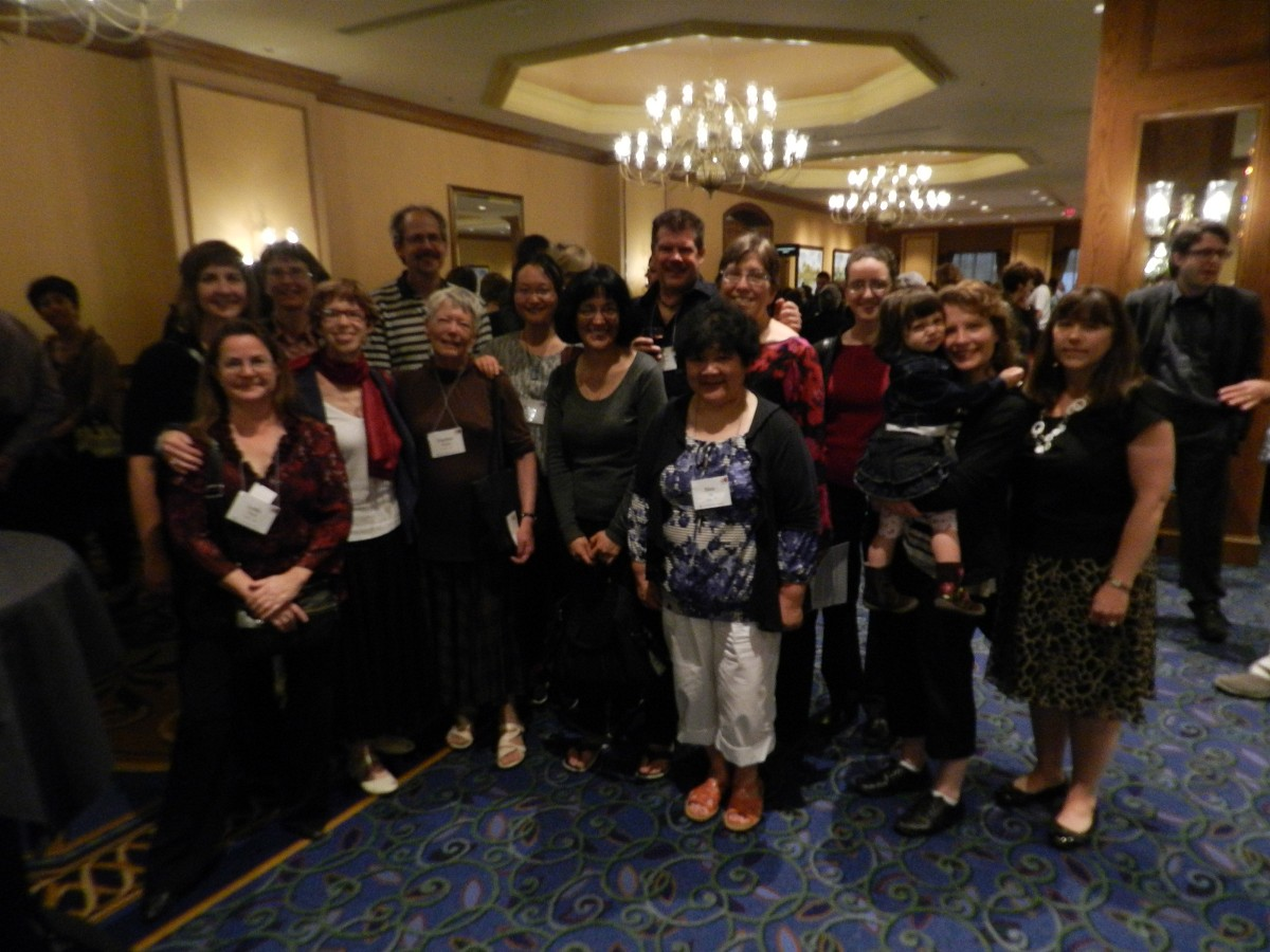 Canadian Teachers at the 2012 Conference