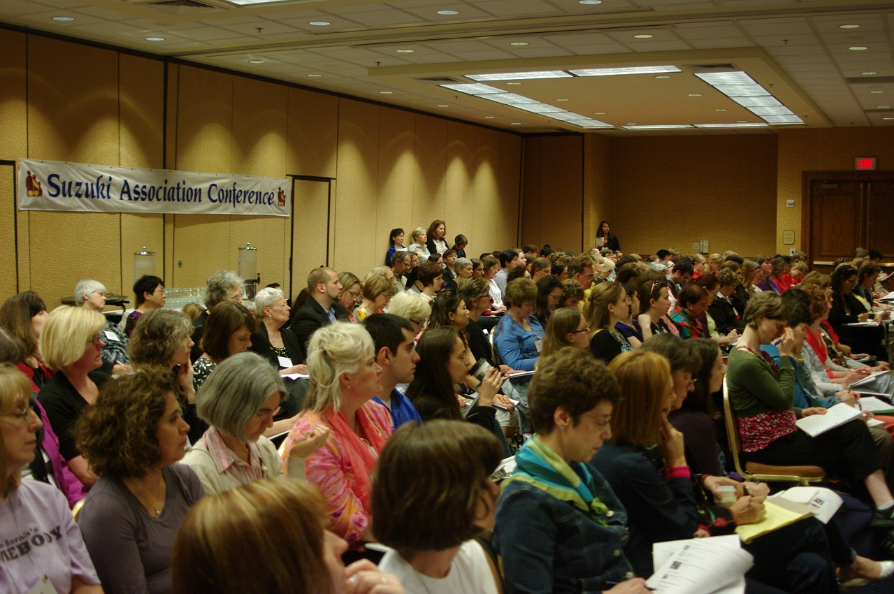 A full house for Nancy Lokken and Gail Johansen's session