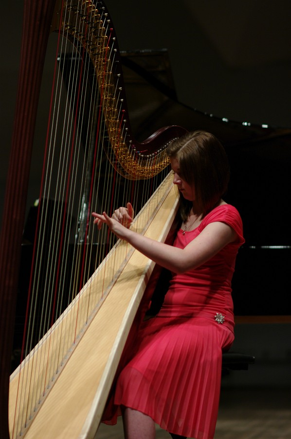 Caroline Richards performs in the Kaleidoscope Concert