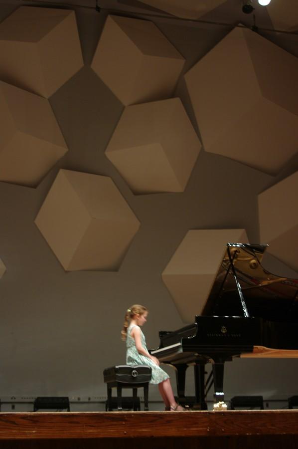 Ida Beckett performs in the Kaleidoscope Concert
