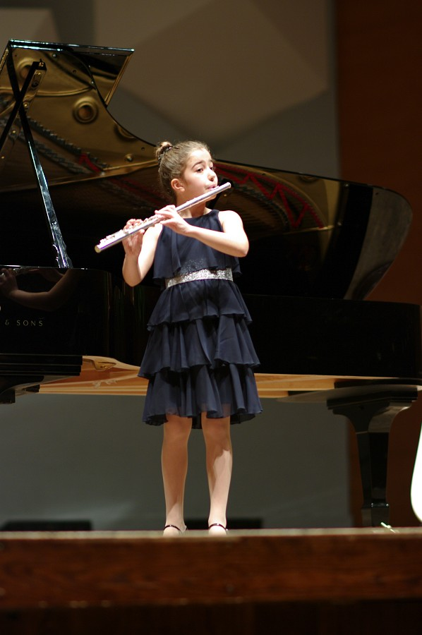 Nadira Novruzov performs in the Kaleidoscope Concert
