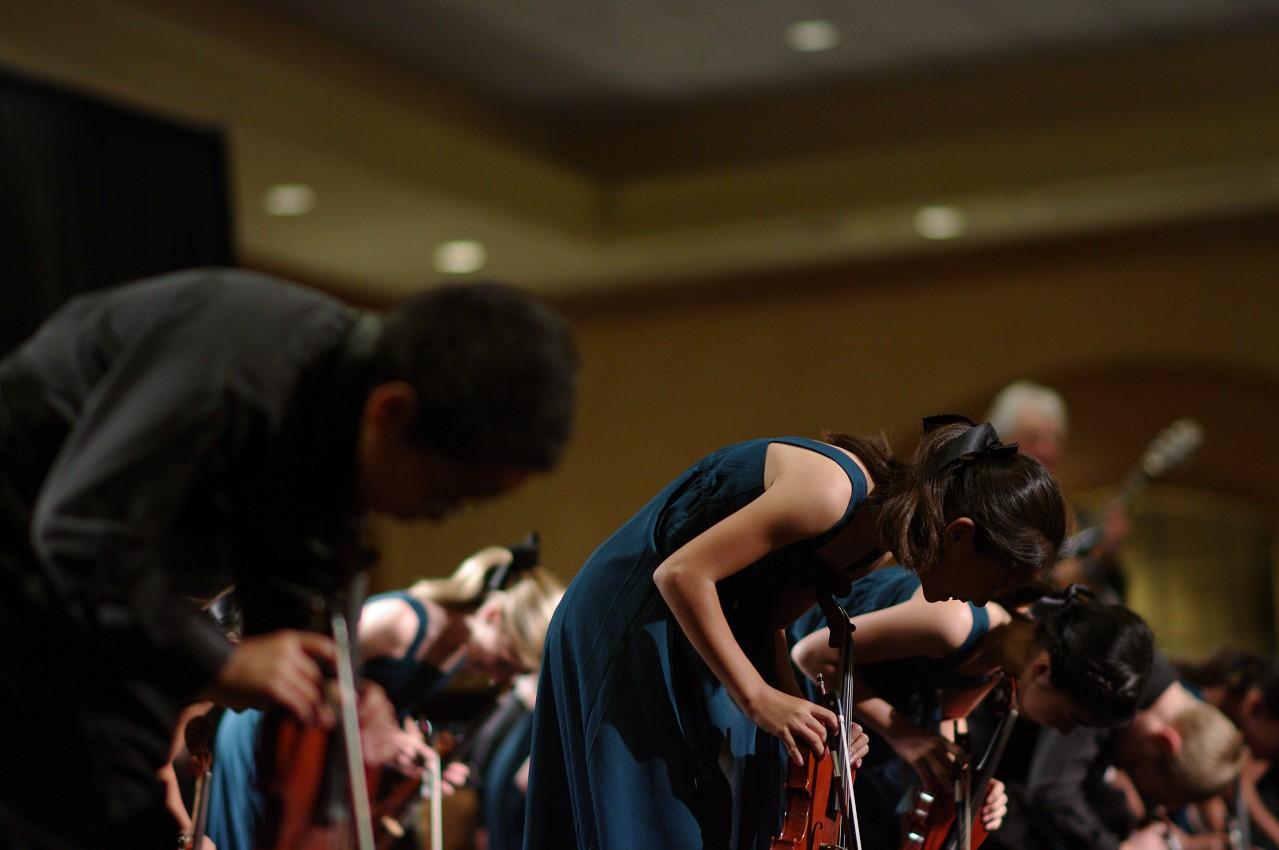 Harpeth Suzuki Strings performs in the International Ensembles Concert