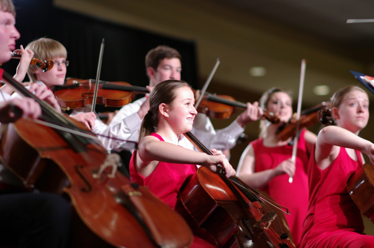 Buffalo Suzuki Strings Friendship Touring Ensemble performs in the International Ensembles Concert