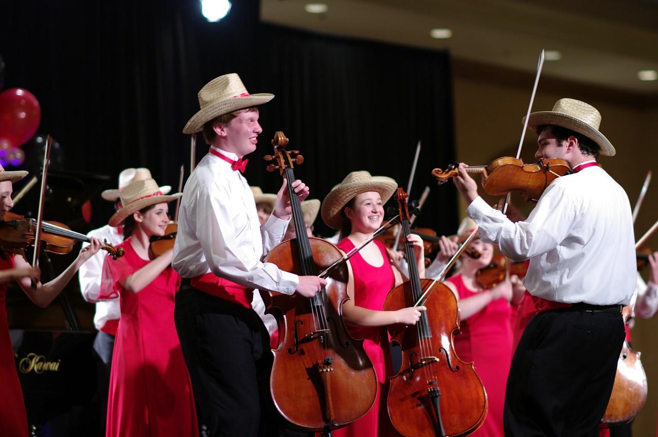 Buffalo Suzuki Strings Friendship Touring Ensemble performs in the International Ensembles Concert