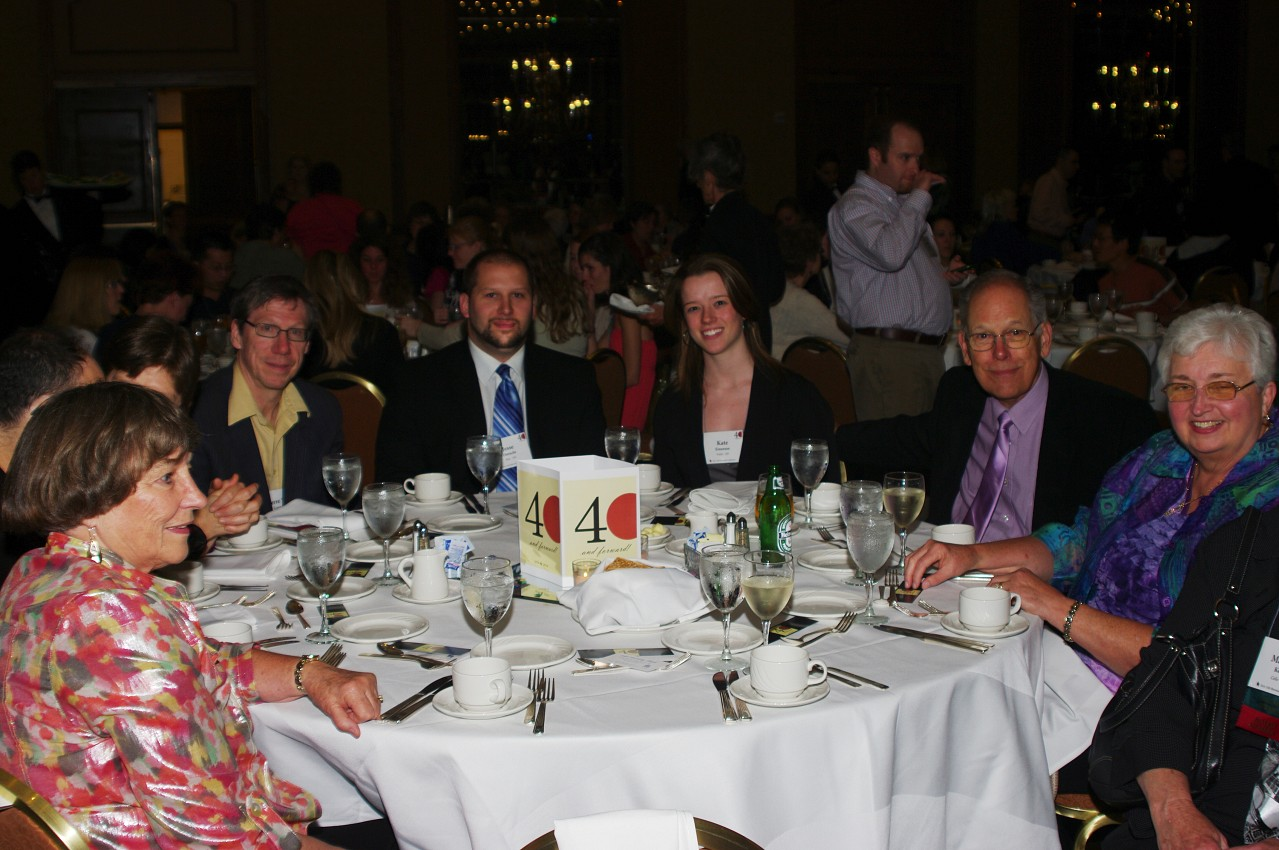 Canadians Pierre Gagnon, Jesse Dietschi, Kate Einarson, Don Jones, Dorothy Jones at the 2012 Conference