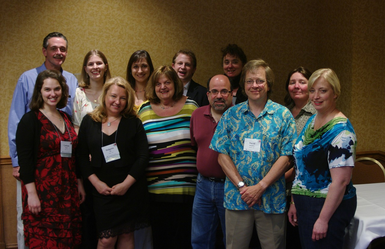 Connecticut teachers at the 2012 conference