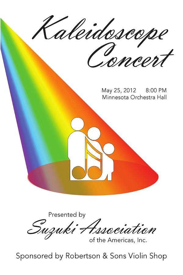 Kaleidoscope Concert Poster