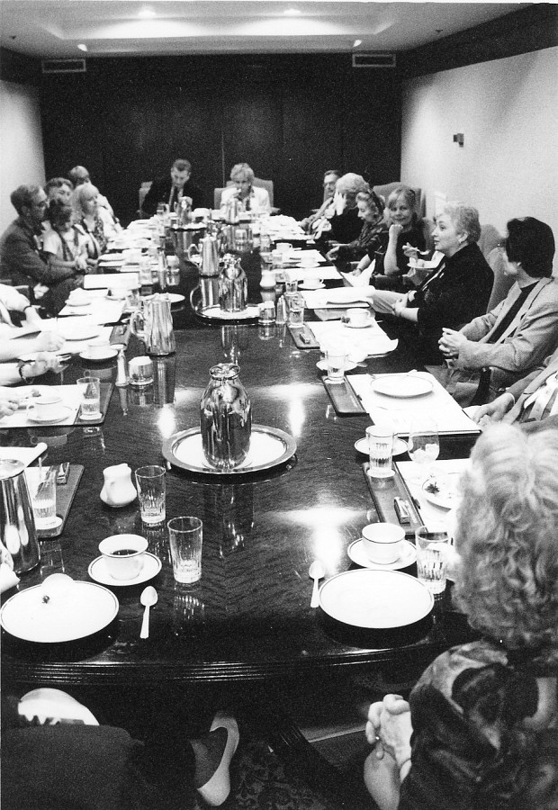 Board meeting at the 1994 SAA Conference