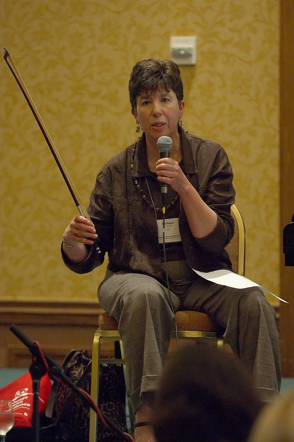 Barbara Wampner at the 2006 SAA Conference