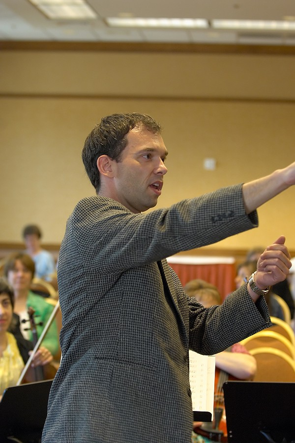 Martin Norgaard conducts a reading session at the 2006 SAA Conference