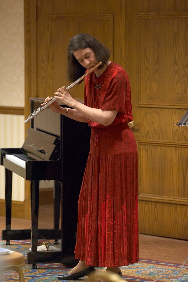 Flute clinician Bonita Boyd gives a session at the 2006 SAA Conference
