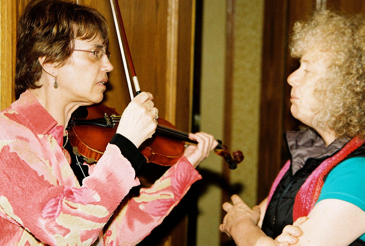 Nancy Lokken and Caroline Fraser