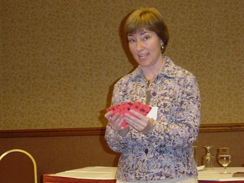 Bridget Jankowski speaks at the 2008 SAA Conference