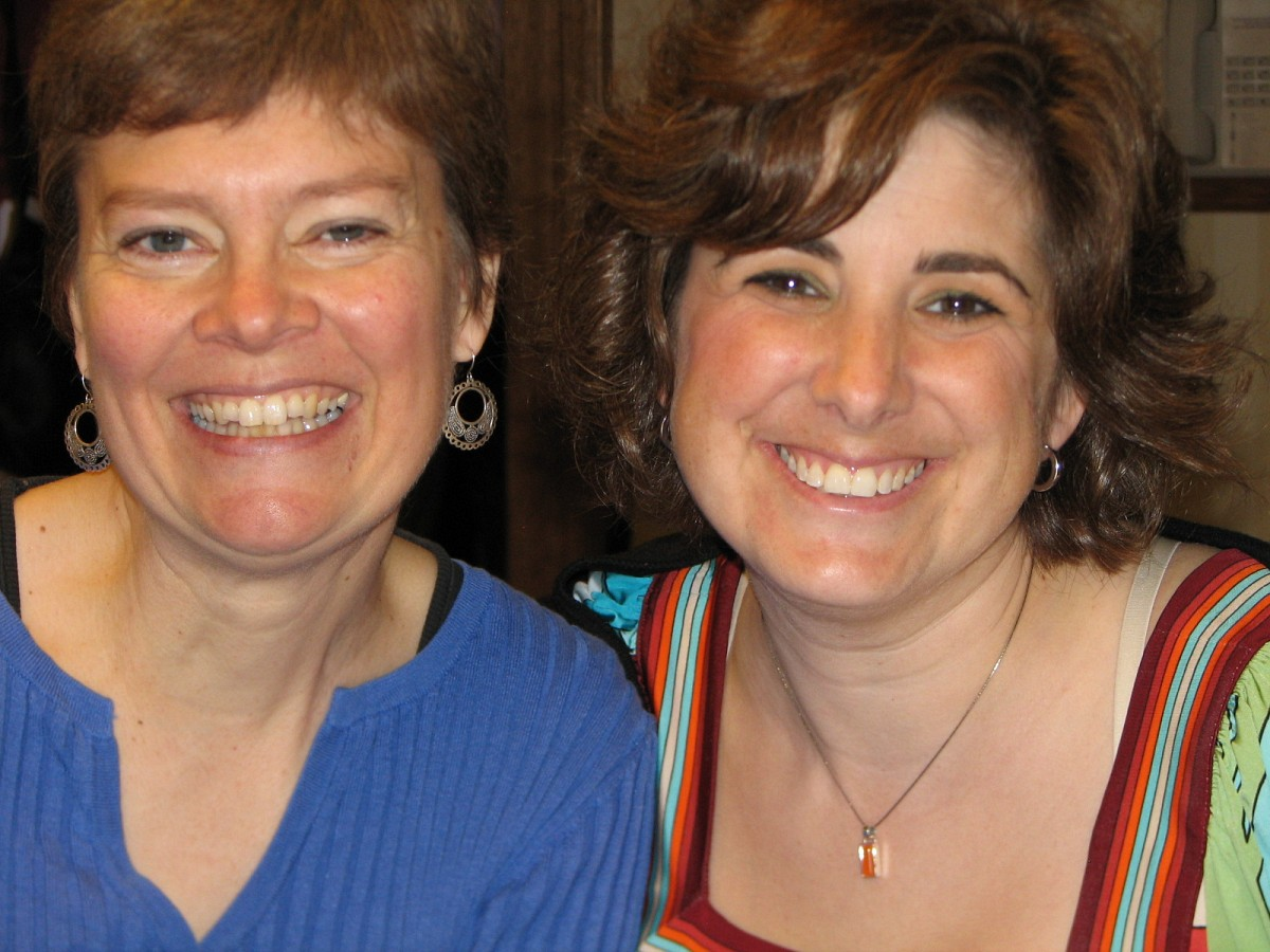 Carrie Reuning-Hummel and Melissa Kraut.