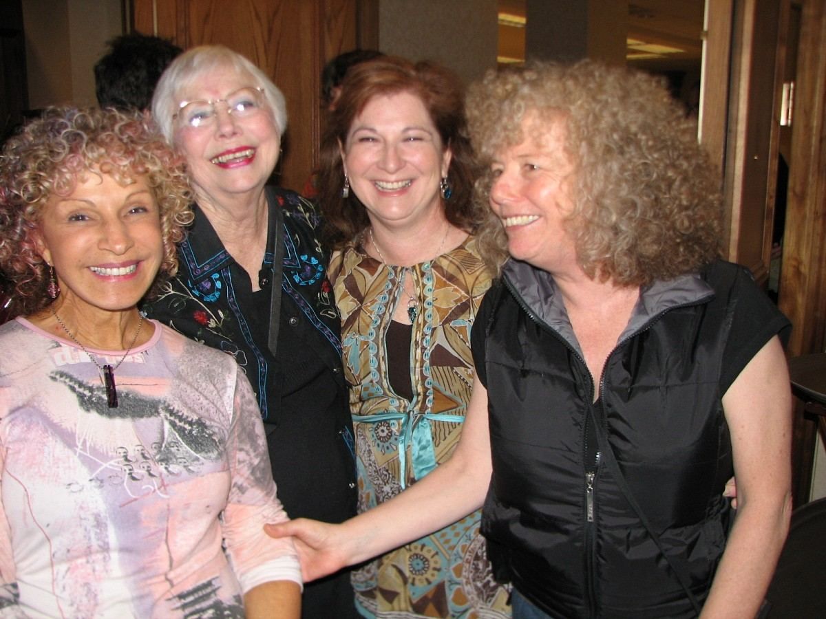 Nehama Patkin, Doris Harrel, Diana Galindo, and Caroline Fraser.
