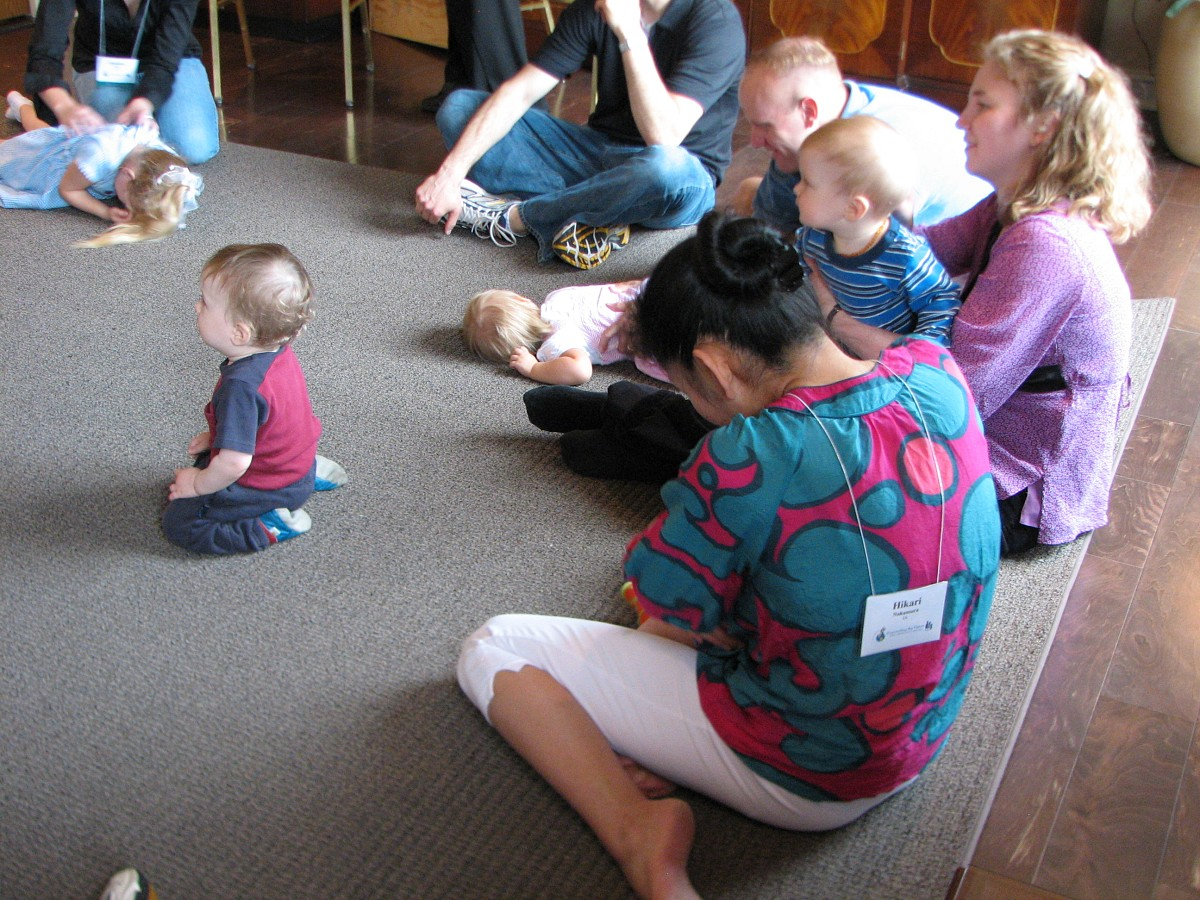 Early Childhood Education class at the 2008 SAA Conference